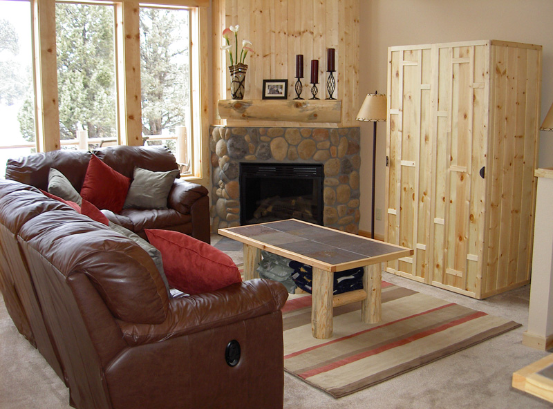 Rustic Living Room Furniture Great Deals At Rocky Mountain Cabin